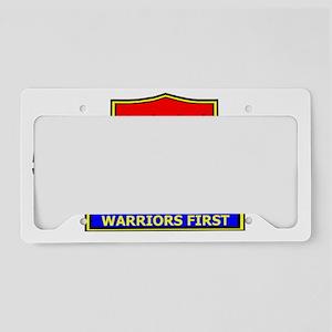 Army509thPersonnelServicesBnC License Plate Holder