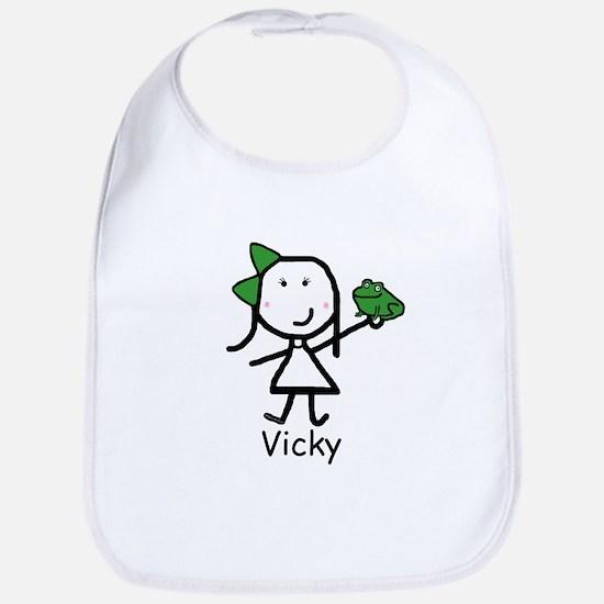 Frog - Vicky Bib