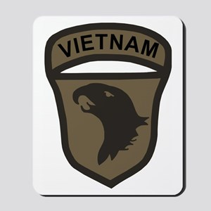 Army101stAirborneVietnamPatchBonnie Mousepad