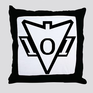 my101stAirborneDivisionRecondoSchoolL Throw Pillow