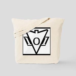 my101stAirborneDivisionRecondoSchoolLogoB Tote Bag