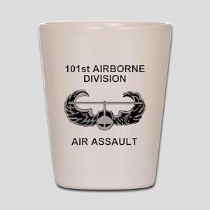 Army101stAirborneDivShirt3 Shot Glass