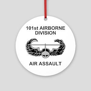 Army101stAirborneDivShirt3 Round Ornament