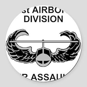 Army101stAirborneDivShirt3 Round Car Magnet