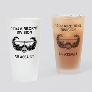 Army101stAirborneDivShirt3 Drinking Glass