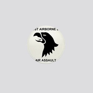 Army101stAirborneDivisionShirtBack Mini Button