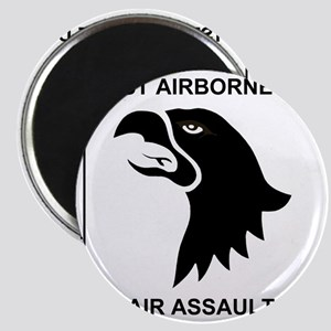 Army101stAirborneDivisionShirtBack Magnet