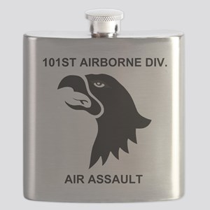 Army101stAirborneDivisionShirtBack Flask