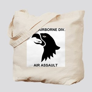 Army101stAirborneDivisionShirtBack Tote Bag