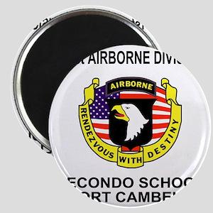 Army101stAirborneRecondoShirtBackColor Magnet