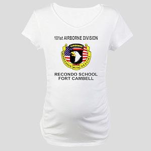 Army101stAirborneRecondoShirtBac Maternity T-Shirt