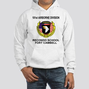 Army101stAirborneRecondoShirtBac Hooded Sweatshirt
