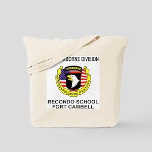 Army101stAirborneRecondoShirtBackColor.gi Tote Bag