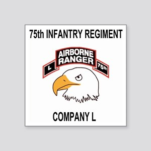 "Army101stAirborneDivLCompan Square Sticker 3"" x 3"""