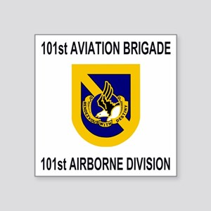"""Army101stAviationBrigadeShi Square Sticker 3"""" x 3"""""""