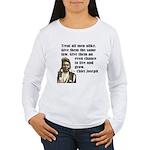 Treat all men alike Women's Long Sleeve T-Shirt