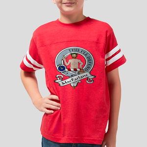 MacFarlane Clan Youth Football Shirt