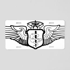 USAFFlightNurseCommandLevel Aluminum License Plate