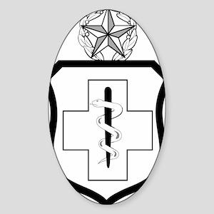 USAFEnlistedMedicalBadgeCommandLeve Sticker (Oval)