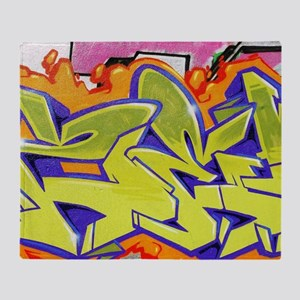Graffiti Throw Blanket