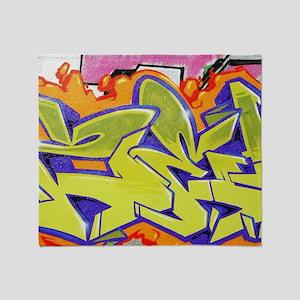 Graffiti Throw Blanket