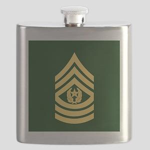 ArmyCommandSergeantMajorTileCoaster Flask