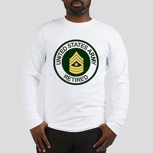 ArmyRetiredSergeantMajor Long Sleeve T-Shirt