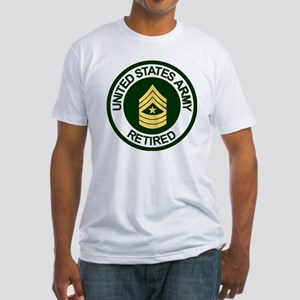 ArmyRetiredSergeantMajor Fitted T-Shirt