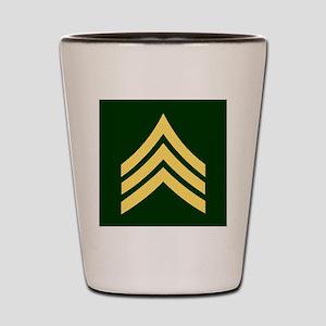 ArmySergeantBonnieTileCoaster Shot Glass