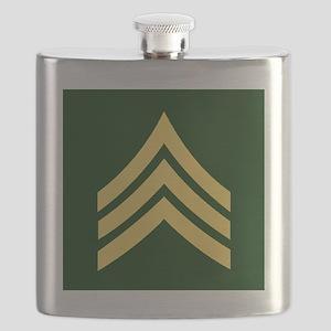 ArmySergeantBonnieTileCoaster Flask