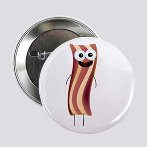 "Happy Bacon! 2.25"" Button"