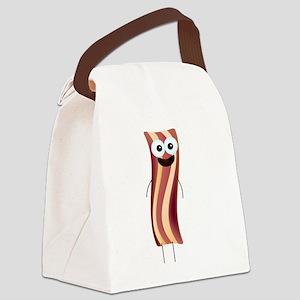 Happy Bacon! Canvas Lunch Bag
