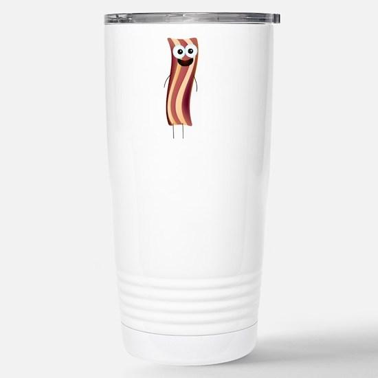 Happy Bacon! Travel Mug