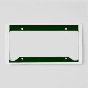 ArmySergeantBonnieBlackCap.gi License Plate Holder