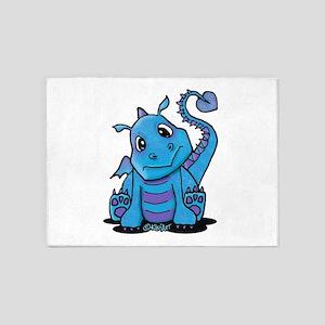 Baby Dragon 5'x7'Area Rug