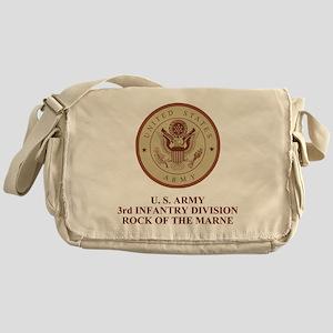 Army3rdInfantryShirtbackDesert Messenger Bag