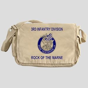 Army3rdInfantryShirt2 Messenger Bag