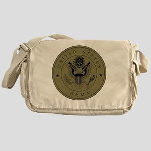 Army3rdInfantryShirtbackWoodland Messenger Bag