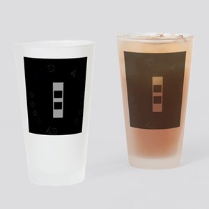 ArmyCWO2WithText Drinking Glass