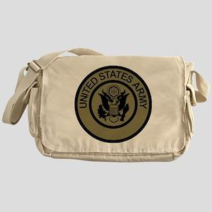 ArmyLogoWoodland Messenger Bag