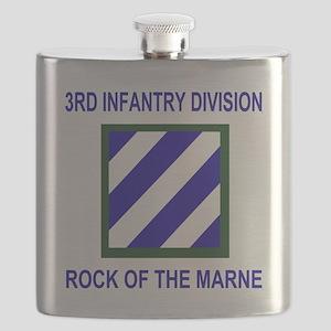 Army3rdInfantryShirt1 Flask
