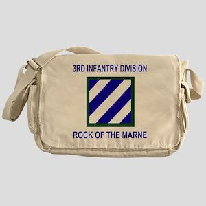 Army3rdInfantryShirt1 Messenger Bag