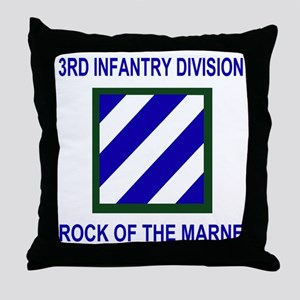 Army3rdInfantryShirt1 Throw Pillow