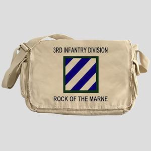 Army3rdInfantryShirt3 Messenger Bag