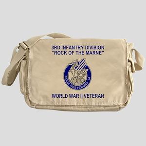 Army3rdInfantryWWIIShirt2 Messenger Bag