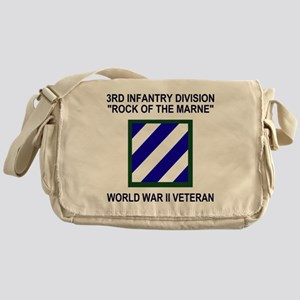Army3rdInfantryWWIIShirt3 Messenger Bag