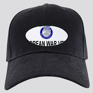 Army3rdInfantryKoreaCap2 Black Cap