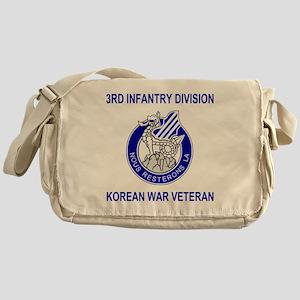 Army3rdInfantryKoreaShirt2B Messenger Bag