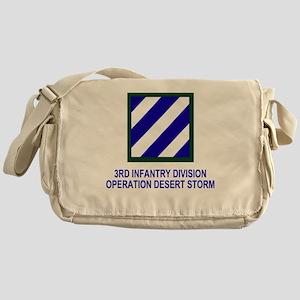 Army3rdInfantryDesertStorm4 Messenger Bag