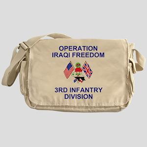 Army3rdInfantryIraqiFreedom Messenger Bag